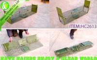 Animal wire mesh cage trap