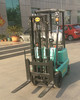 Container inside loading Mini Electric Forklift With Best Price