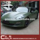 60''x100' stretchable car matte army green car vinyl wrap