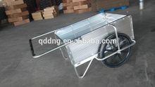 Foldable garden cart , platform garden cart , beach cart