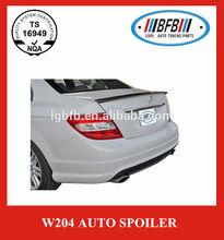 rear trunk lip spoiler for mercedes benz c class w204