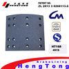 4515 brake shoe brake lining made in China