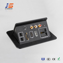 JS-550H+U Pop up Conference Table Power Outlet