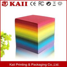 sticky notes,acrylic cubes paper weight, low price supplier in shenzhen