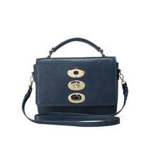 Blue Bubble leather bag Handmade cross body bag woman hand bags 2014