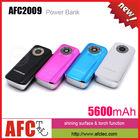AFC2009 Wholesale Alibaba Universal OEM Portable 5600mah Manual For Power Bank