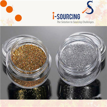 "High quality 1/128"" gold glitter powder for Christmas ball"
