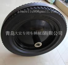 solid wheelbarrow wheel for 16inch