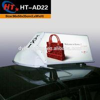 LED car logo cab dome sign