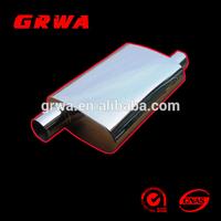 stainless steel universal muffler for car