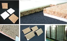 Glass separator / protection cork pads