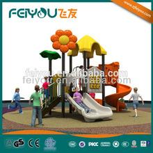 2014 outdoor slide game tube game toy game system garden metal swing