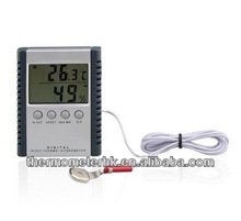 Digital C / F Thermometer Hygrometer LCD Indoor Outdoor Temperature