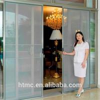 Energy saving aluminum interior insect screen sliding door