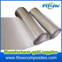 single-sided aluminum coated fiberglass cloth/fabric
