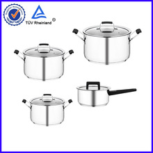 Cheaper with best quality OEM 304 material cookware impacted 3 layers ground beef casserole