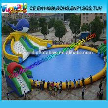2014 Interesting Inflatable Aqua Park / inflatable Aqua Sport /inflatable Water Games for Adult