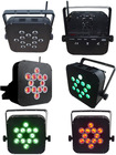 12*12W RGBW 4 in 1 led battery stage light