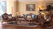 fabric 3 2 1 1 sofa with coffee table GAS007