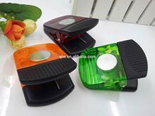 Plastic fridge magnet clips , long spring plastic clips