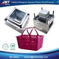 De alta calidad de productos para el hogar de plástico cesta de frutas& del molde del molde