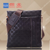 2014 new trend wholesale genuine cowhide second layer briefcase bag from factory