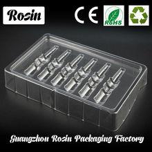 Personalizado de plástico contenedores& biodegradables envases de productos cosméticos& de plástico fabricante de contenedores