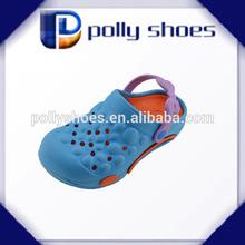 wholesale comfortable 2014 new innovate design garden shoe for girl
