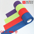 Colored Cotton Rigid sports tape for Strapping Athletic tape Trainers tape 3.8cm*13.7M- (CE/ISO/TUV/FDA Approval)