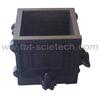 150*150*150mm Durable 4 part Cast Iron Laboratory Cube Mould