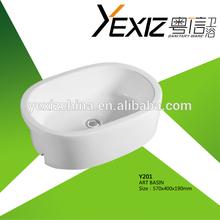 Y201 Sell Bathroom Cabinet Wash Sink bathroom portable sink