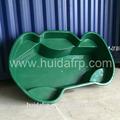 Personalizar el diseño de fibra de vidrio preformados estanque koi/tanque de los pescados/estanque de jardinería precio