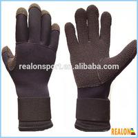 neoprene waterproof kevlar diving gloves