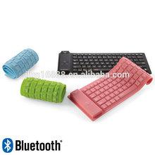 Bluetooth Wireless flexible Keyboard for tablet ,wireless flexible keyboard for iPad