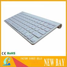 Wholesale -2.4 G Wireless keyboard Scissors foot ultra-thin Ultra Thin Bluetooth Wireless Aluminum Keyboard