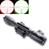 4-16 X50EG Riflescope with front parallax adjustment objective and red&green illuminated mil-dot reticle