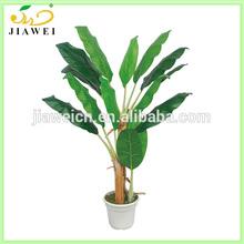 make decorative fake banana trees