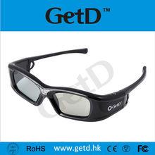 144 Hz acer dlp 3d projector Rechargeable Shutter Glasses