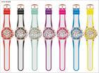 new design free logo printing custom quartz watch silicone