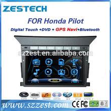 "ZESTECH radio player Dvd gps audio vedio 7"" car radio for Honda Pilot car radio player"
