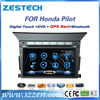"ZESTECH radio player Dvd gps audio vedio 7"" car radio for Honda Pilot car radio player"
