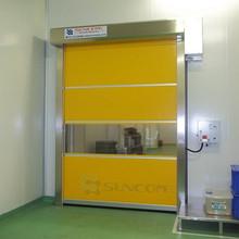 automatic rapid roll up shutter door