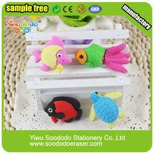 fish shape stationery stationery item custom eraser