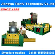 Scrap metal hydraulic baling press machine briquetting press CE
