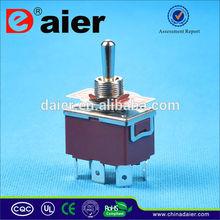 KN3(C)-202P 250VAC e-ten CE Toggle Switch