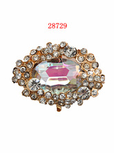 28729 brand new buckle with stone and strass