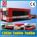 cnc aço metal laser cutting machine 1000w