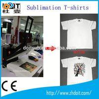 S/M/L/XL/XXL/XXXL custom sublimation t-shirt/100% cotton t-shirt/printed t-shirt for team
