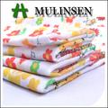 mulinsen têxtil tecido liso crianças flores e animais 80 impressa poliéster 20 algodão barato tc tecido