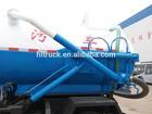 Mini Dongfeng sewage suction truck, vacuum truck popular